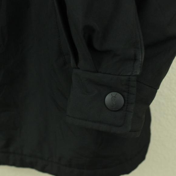 1be659b4 VTG Yves Saint Laurent YSL Jacket Mens Rare Black